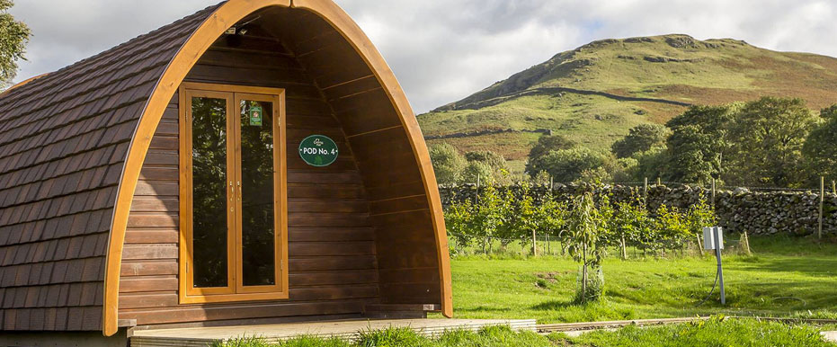 Glamping And Camping Pods Keswick Lake District Campsite